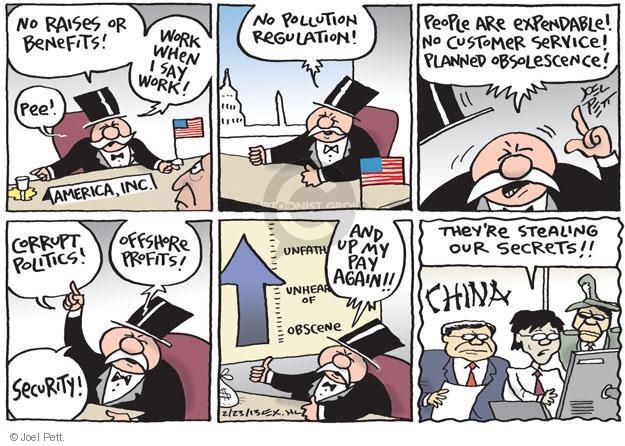 Joel Pett  Joel Pett's Editorial Cartoons 2013-02-22 business