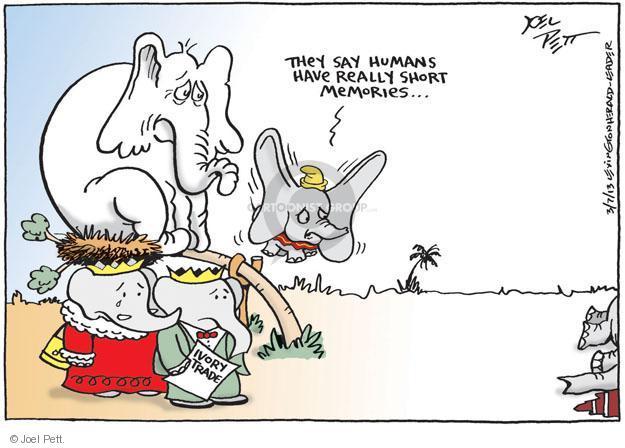 Joel Pett  Joel Pett's Editorial Cartoons 2013-03-07 endangered