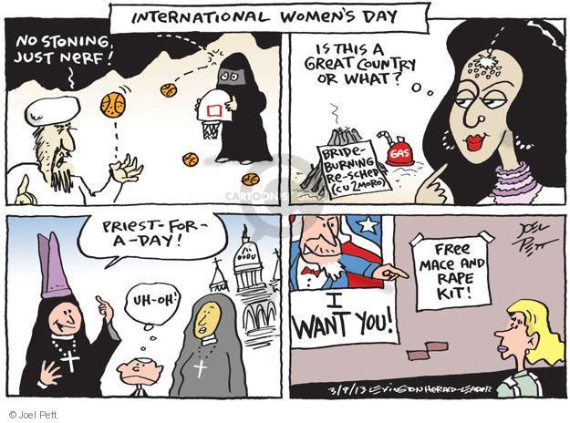 Joel Pett  Joel Pett's Editorial Cartoons 2013-03-09 female
