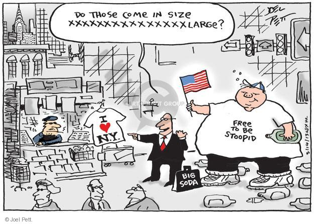 Joel Pett  Joel Pett's Editorial Cartoons 2013-03-14 sugary