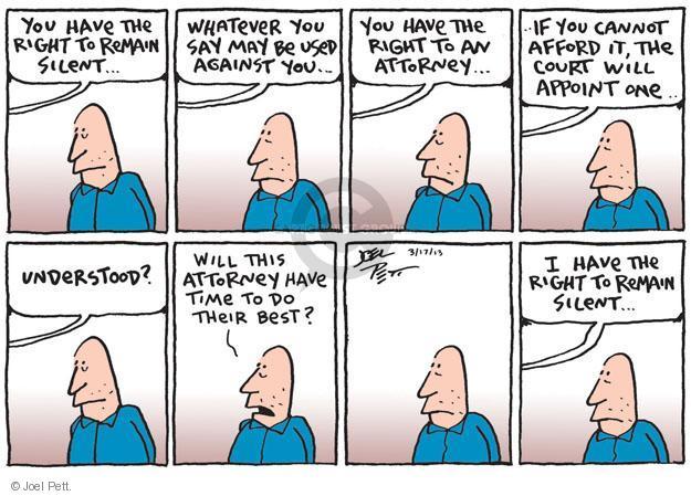 Cartoonist Joel Pett  Joel Pett's Editorial Cartoons 2013-03-17 trial