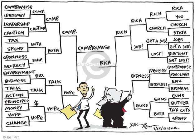 Joel Pett  Joel Pett's Editorial Cartoons 2013-03-22 bid
