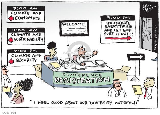 Cartoonist Joel Pett  Joel Pett's Editorial Cartoons 2013-04-03 security
