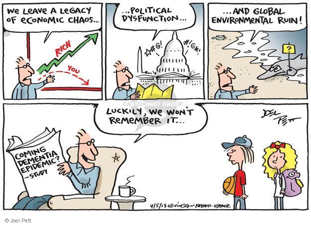 Joel Pett  Joel Pett's Editorial Cartoons 2013-04-05 environment