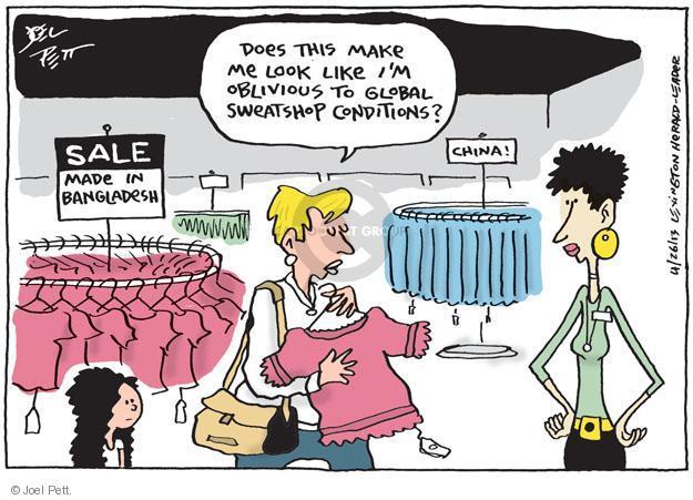 Cartoonist Joel Pett  Joel Pett's Editorial Cartoons 2013-04-26 trade
