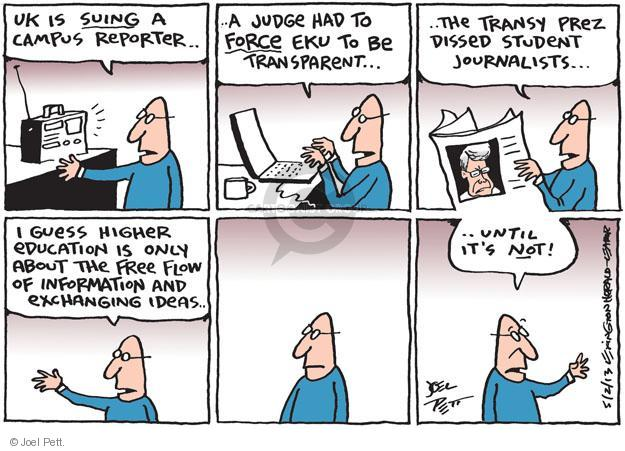 Joel Pett  Joel Pett's Editorial Cartoons 2013-05-02 Sue
