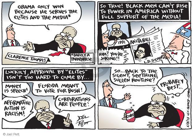 Joel Pett  Joel Pett's Editorial Cartoons 2013-05-08 racism