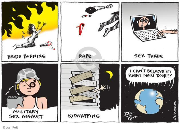 Joel Pett  Joel Pett's Editorial Cartoons 2013-05-09 woman