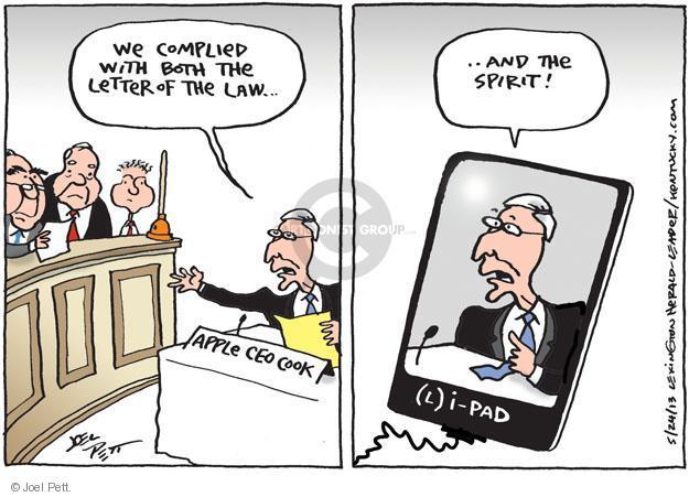 Joel Pett  Joel Pett's Editorial Cartoons 2013-05-25 tax evasion