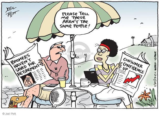 Cartoonist Joel Pett  Joel Pett's Editorial Cartoons 2013-05-30 boomer
