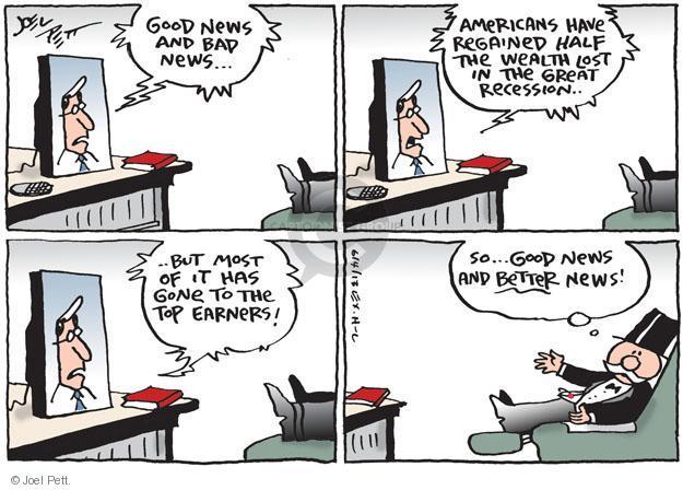 Joel Pett  Joel Pett's Editorial Cartoons 2013-06-04 financial