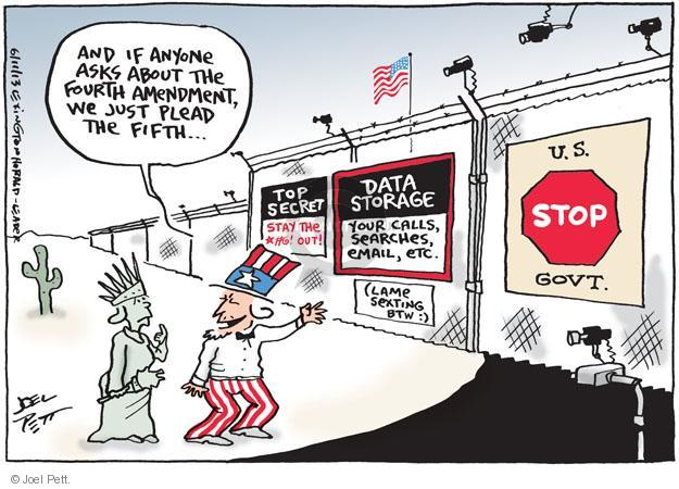 Joel Pett  Joel Pett's Editorial Cartoons 2013-06-11 telephone