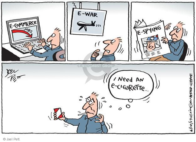 Cartoonist Joel Pett  Joel Pett's Editorial Cartoons 2013-06-14 digital photo