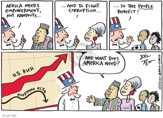 Cartoonist Joel Pett  Joel Pett's Editorial Cartoons 2013-07-05 country
