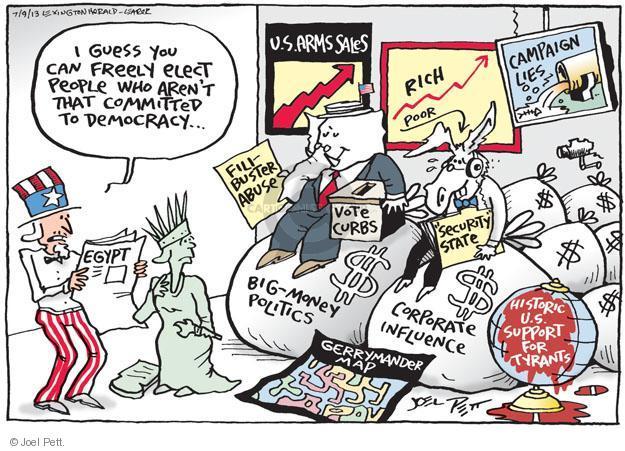 Cartoonist Joel Pett  Joel Pett's Editorial Cartoons 2013-07-09 leader