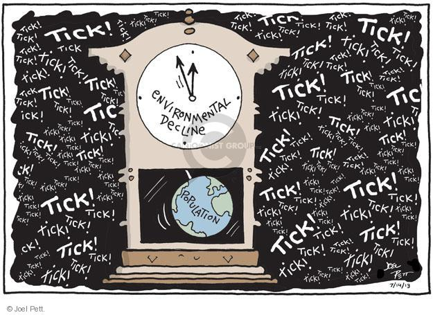 Joel Pett  Joel Pett's Editorial Cartoons 2013-07-14 population