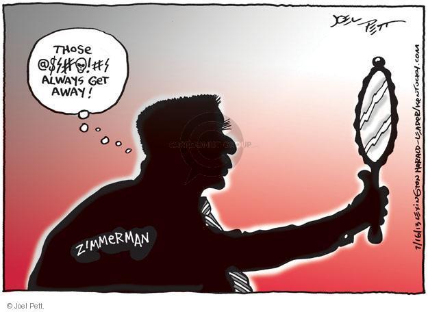 Cartoonist Joel Pett  Joel Pett's Editorial Cartoons 2013-07-16 trial