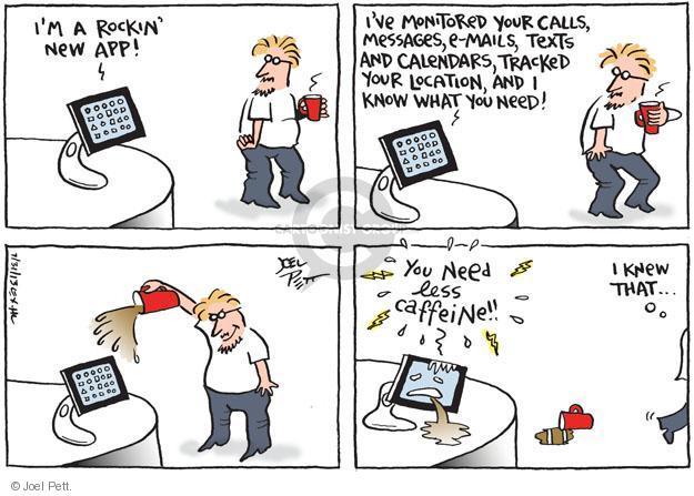 Cartoonist Joel Pett  Joel Pett's Editorial Cartoons 2013-07-31 computer monitor