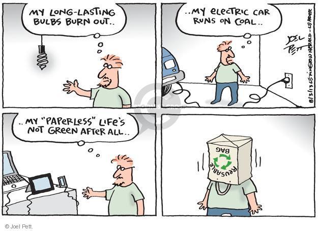 Joel Pett  Joel Pett's Editorial Cartoons 2013-08-03 coal