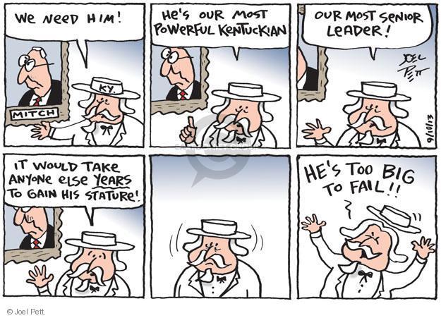 Cartoonist Joel Pett  Joel Pett's Editorial Cartoons 2013-09-10 senatorial