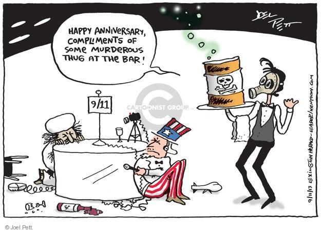 Cartoonist Joel Pett  Joel Pett's Editorial Cartoons 2013-09-11 2001