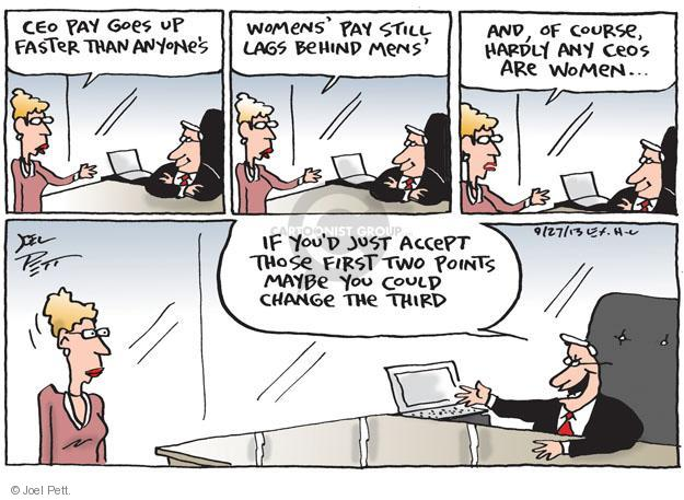 Joel Pett  Joel Pett's Editorial Cartoons 2013-09-27 woman