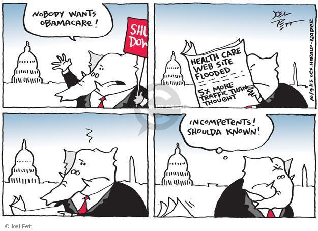 Joel Pett  Joel Pett's Editorial Cartoons 2013-10-09 budget