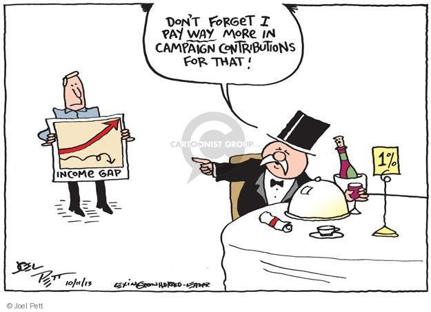 Cartoonist Joel Pett  Joel Pett's Editorial Cartoons 2013-10-11 donation