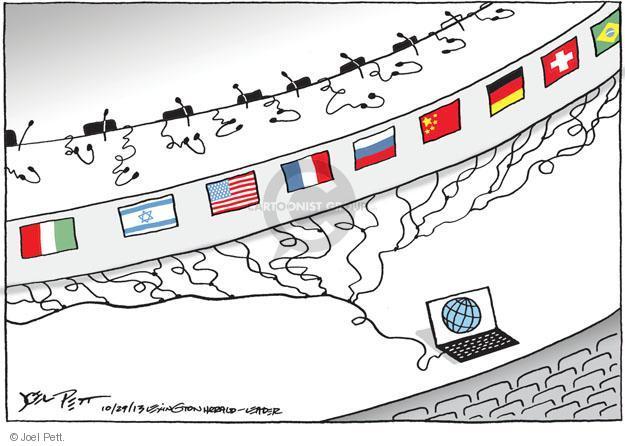 Cartoonist Joel Pett  Joel Pett's Editorial Cartoons 2013-10-29 international