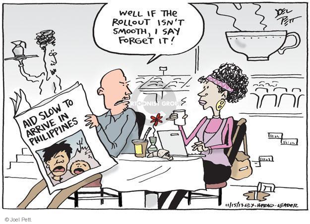 Joel Pett  Joel Pett's Editorial Cartoons 2013-11-15 Obamacare