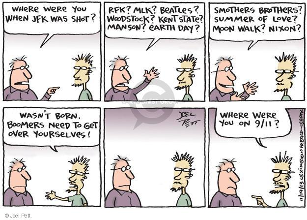 Joel Pett  Joel Pett's Editorial Cartoons 2013-11-19 age