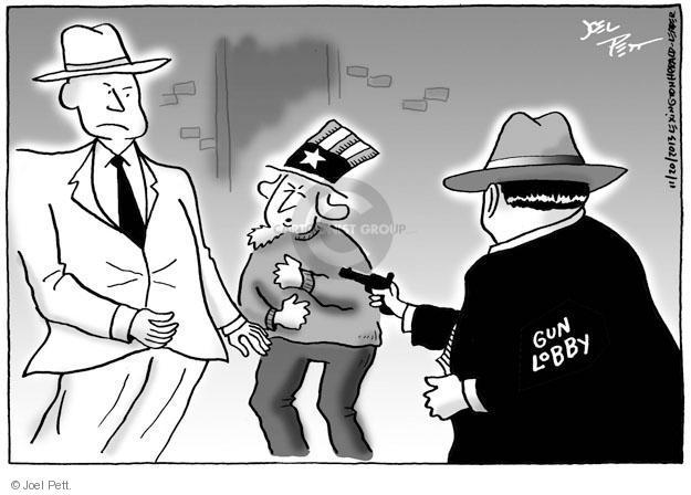 Cartoonist Joel Pett  Joel Pett's Editorial Cartoons 2013-11-20 violent crime