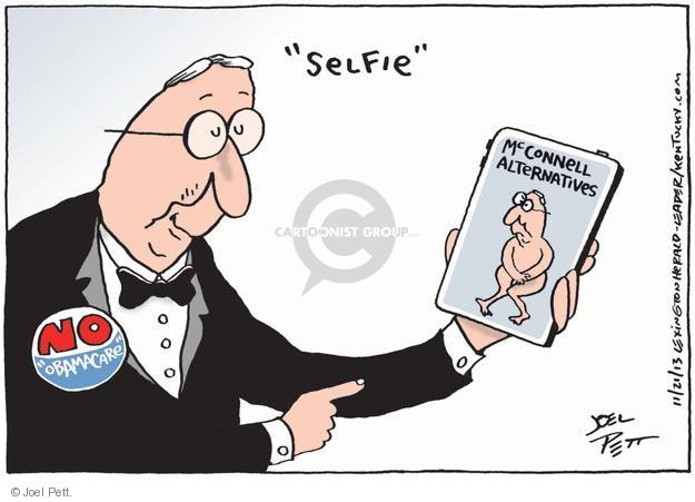 Cartoonist Joel Pett  Joel Pett's Editorial Cartoons 2013-11-21 congress health care
