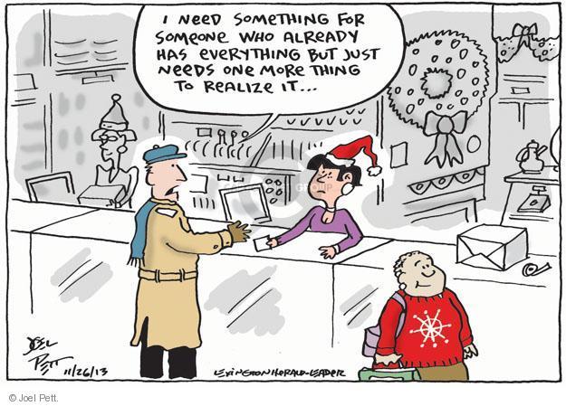 Joel Pett  Joel Pett's Editorial Cartoons 2013-11-26 shopper