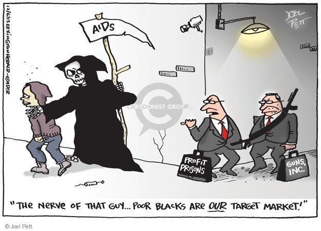Joel Pett  Joel Pett's Editorial Cartoons 2013-12-06 gun