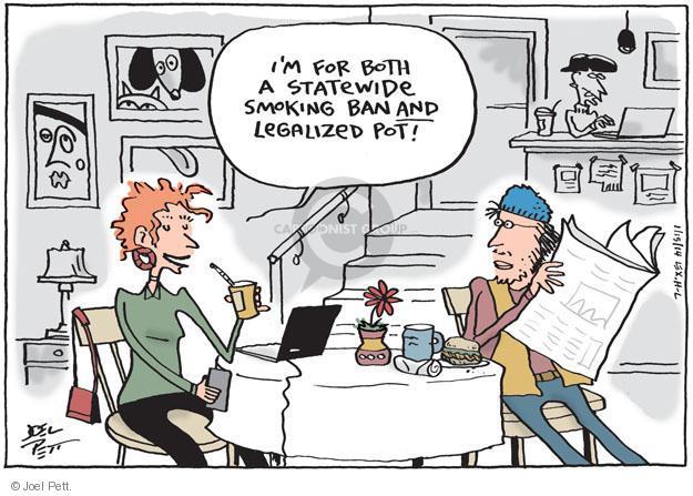 Joel Pett  Joel Pett's Editorial Cartoons 2014-01-15 weed