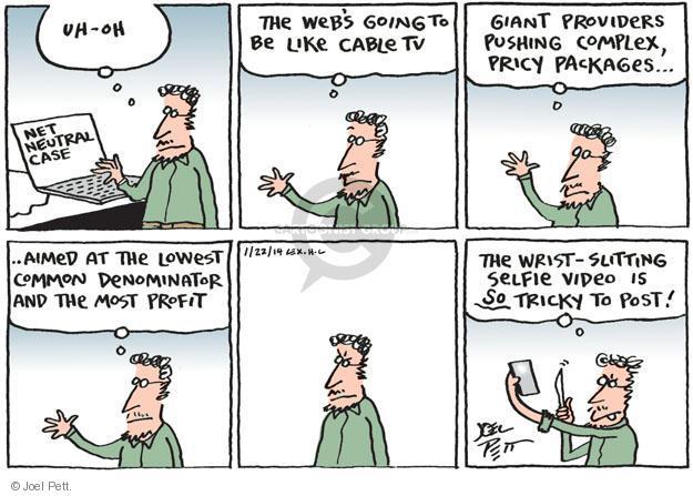Cartoonist Joel Pett  Joel Pett's Editorial Cartoons 2014-01-22 case