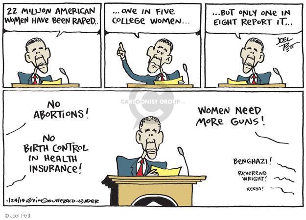 Joel Pett  Joel Pett's Editorial Cartoons 2014-01-24 female