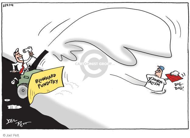 Joel Pett  Joel Pett's Editorial Cartoons 2014-02-05 political media