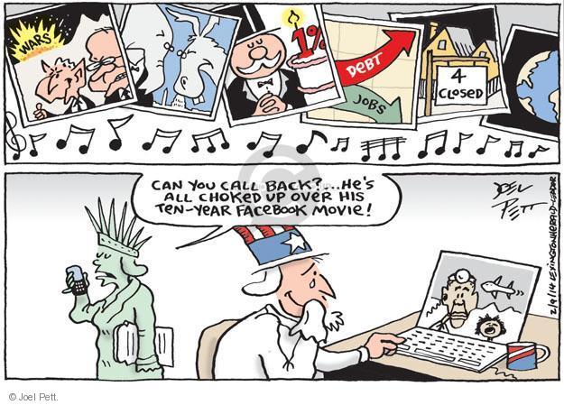 Cartoonist Joel Pett  Joel Pett's Editorial Cartoons 2014-02-09 drone
