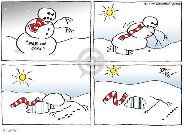 Joel Pett  Joel Pett's Editorial Cartoons 2014-02-19 war