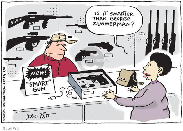 Joel Pett  Joel Pett's Editorial Cartoons 2014-02-21 assault weapon