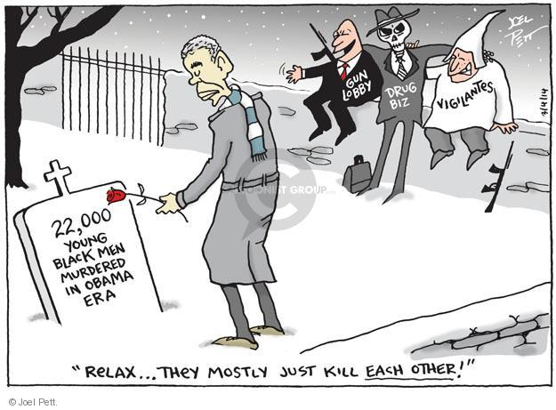Joel Pett  Joel Pett's Editorial Cartoons 2014-03-04 assault weapon