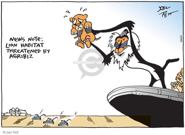 Joel Pett  Joel Pett's Editorial Cartoons 2014-01-16 political media