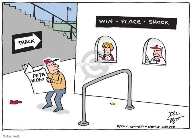 Cartoonist Joel Pett  Joel Pett's Editorial Cartoons 2014-03-29 sports betting
