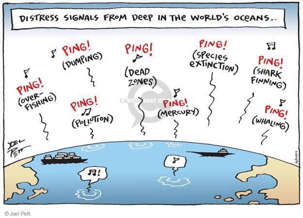Joel Pett  Joel Pett's Editorial Cartoons 2014-04-10 ocean
