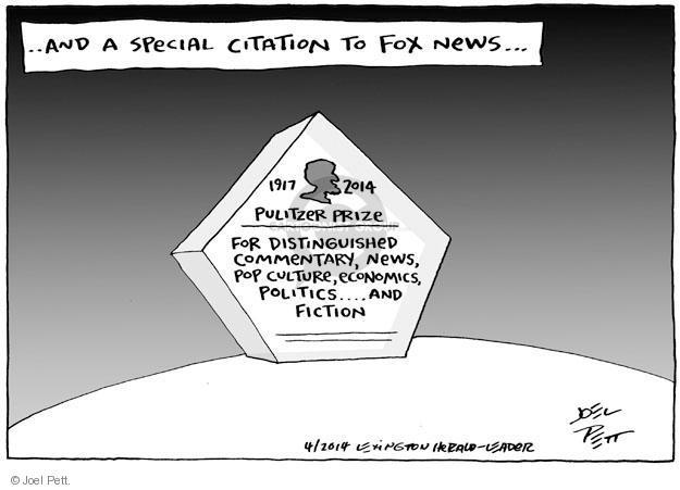 Joel Pett  Joel Pett's Editorial Cartoons 2014-04-16 award