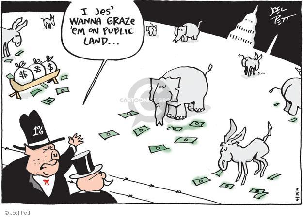 Cartoonist Joel Pett  Joel Pett's Editorial Cartoons 2014-04-18 building
