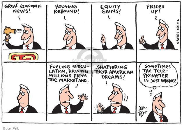 Joel Pett  Joel Pett's Editorial Cartoons 2014-04-23 television cartoon