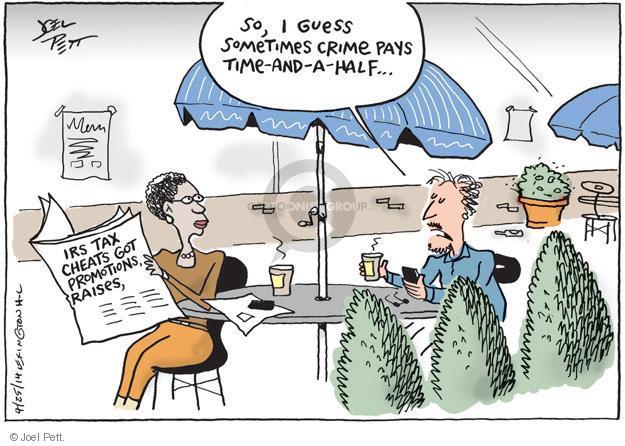 Joel Pett  Joel Pett's Editorial Cartoons 2014-04-25 award